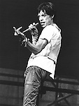 Rolling Stones 1978 Mick Jagger.© Chris Walter.