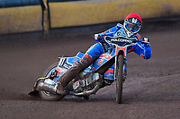 Heat 1 Brady Kurtz of Poole Pirates during Poole Pirates vs Belle Vue Aces, Elite League Speedway at The Stadium on 11th April 2018