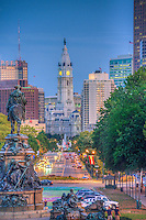 Philadelphia Downtown Urban