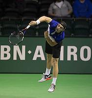 Rotterdam, Netherlands, 11 februari, 2017, ABNAMROWTT,   Doubles Qualyfying round,  Tallon Griekspoor (NED) (<br /> Photo: Henk Koster