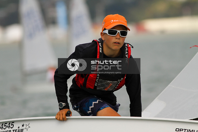 2015 SI Optimist Championships, Nelson Yacht Club, Nelson  Photo: Marc Palmano/Shuttersport
