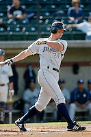 Shane Buschini of the University of San Diego Toreros during a game against the USC Trojans at Dedeaux Field on February 10, 2007 in Los Angeles, California. (Larry Goren/Four Seam Images)