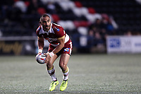 Picture by Paul Greenwood/SWpix.com - 27/04/2018 - Rugby League - Betfred Super League - Widnes Vikings v Wigan Warriors - Select Security Stadium, Widnes, England - Thomas Leuluai of Wigan Warriors