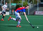 AMSTELVEEN - Max Sweering (SCHC)   tijdens  de hoofdklasse competitiewedstrijd hockey heren,  Amsterdam-SCHC (3-1).  COPYRIGHT KOEN SUYK