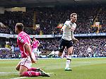 Tottenham's Harry Kane celebrates scoring his sides second goal during the Premier League match at White Hart Lane Stadium.  Photo credit should read: David Klein/Sportimage