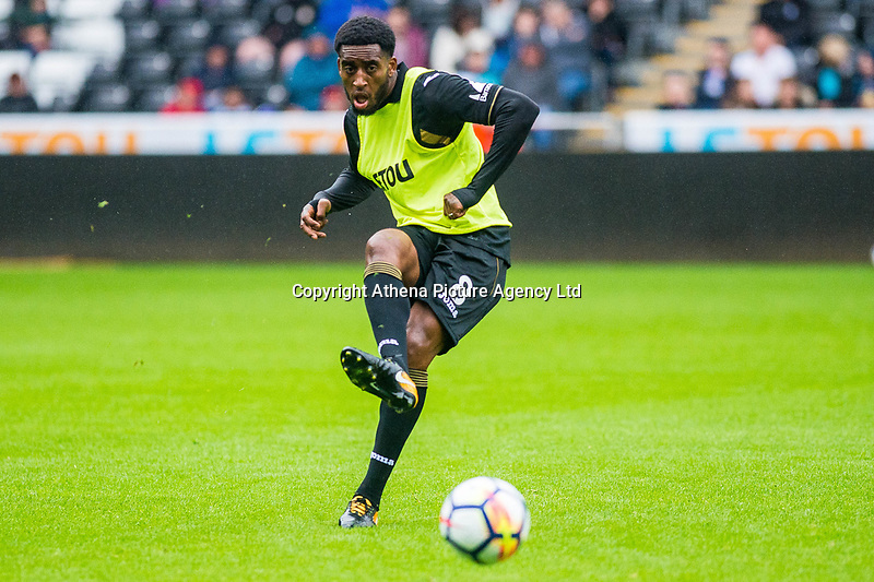 Leroy Fer of Swansea City in action during the Swansea City Training Session at The Liberty Stadium, Swansea, Wales, UK. 02 August 2017