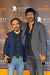 51 Festival Internacional de Cinema Fantastic de Catalunya-Sitges 2018.<br /> Blood Red Carpet.<br /> Koldo Serra &amp; Hugo Silva.