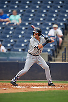 Lakeland Flying Tigers Kody Clemens (8) at bat during a Florida State League game against the Tampa Tarpons on April 7, 2019 at George M. Steinbrenner Field in Tampa, Florida.  Tampa defeated Lakeland 3-2.  (Mike Janes/Four Seam Images)