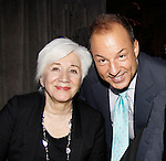 Olympia Dukakis (Search for Tomorrow) & Fox 5 Nick Gregory at The Loukoumi Make a Difference Foundation  - A Celebration 10 years in the Making - Dance Party and Make a Difference Awards on June 17, 2015 at Lake Isle Country Club, Eastchester, New York. (Photos by Sue Coflin/Max Photos)