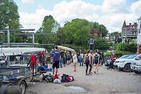 Maidenhead. Berkshire. United Kingdom. 2017 Maidenhead Junior Regatta  River Thames. <br /> Sunday  14/05/2017<br /> <br /> [Mandatory Credit Peter SPURRIER/Intersport Images] Sunday. 14.05.2017