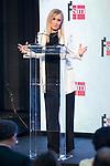 "President of Madrid Community, Cristina Cifuentes during the delivery of SM Awards of children's literature ""El Barco de Vapor"" and ""Gran Angular"" at Real Casa de Correos in Madrid. April 19,2016. (ALTERPHOTOS/Borja B.Hojas)"