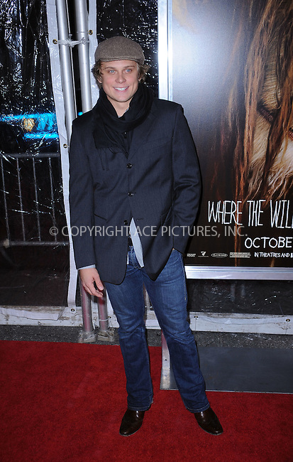 WWW.ACEPIXS.COM . . . . . ....October 13 2009, New York City....Billy Magnussen arriving at the 'Where The Wild Things Are' premiere at Alice Tully Hall on October 13, 2009 in New York City.....Please byline: KRISTIN CALLAHAN - ACEPIXS.COM.. . . . . . ..Ace Pictures, Inc:  ..(212) 243-8787 or (646) 679 0430..e-mail: picturedesk@acepixs.com..web: http://www.acepixs.com