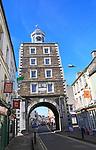 Historic Clock Gate Tower, Youghal, County Cork, Ireland, Irish Republic