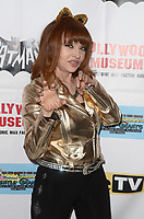 LOS ANGELES - JAN 10:  Judy Tenuta at the Batman '66 Retrospective and Batman Exhibit Opening Night at the Hollywood Museum on January 10, 2018 in Los Angeles, CA<br /> <br /> Batman '66 Retrospective and Batman Exhibit Opening Night, The World Famous Hollywood Museum, Hollywood, CA 01-10-18