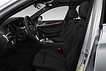 Front seat view of a 2018 BMW 5 Series 530e iPerformance 4 Door Sedan front seat car photos