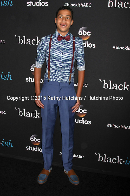 "LOS ANGELES - FEB 17:  Marcus Scribner at the ""Black-ish"" ATAS event at the Silver Screen Theater at Pacific Design Center on April 17, 2015 in Los Angeles, CA"