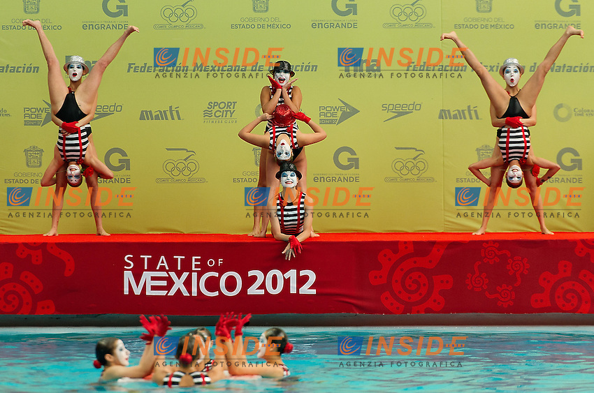 Mexico MEX.Highligths event Day01 - Nov. 30.7th FINA Synchronized Swimming  World Trophy.Mexico City MEX - Nov. 30th, Dec. 2nd, 2012.Photo G.Scala/Deepbluemedia/Inside .Nuoto Sincronizzato