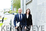 Solicitor Adrian Hegarty and Shila Reidy at the Gap of Dunloe  inquest in Killarney Court on Wednesday
