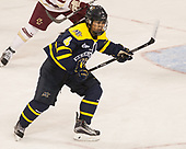 Felila Manu (Merrimack - 4) - The number one seeded Boston College Eagles defeated the eight seeded Merrimack College Warriors 1-0 to sweep their Hockey East quarterfinal series on Friday, February 24, 2017, at Kelley Rink in Conte Forum in Chestnut Hill, Massachusetts.The number one seeded Boston College Eagles defeated the eight seeded Merrimack College Warriors 1-0 to sweep their Hockey East quarterfinal series on Friday, February 24, 2017, at Kelley Rink in Conte Forum in Chestnut Hill, Massachusetts.