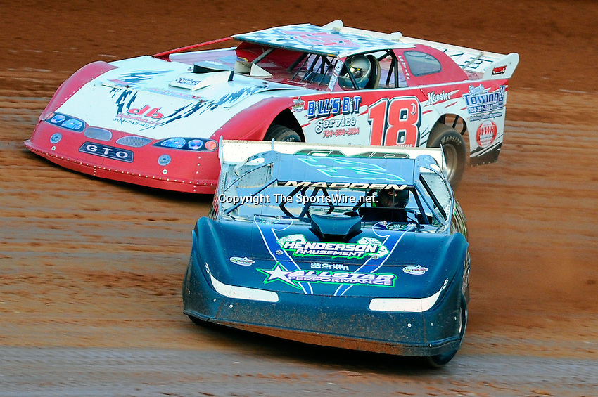 Jan 29, 2010; 5:45:37 PM; Waynesville, GA., USA; The Southern All Stars Racing Series running The Super Bowl of Racing VI at Golden Isles Speedway.  Mandatory Credit: (thesportswire.net)