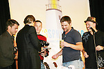 Grant Aleksander waits on Jeff Branson,Tom Pelphrey, Daniel Cosgrove & Adam Reist at So Long Springfield event Night time brought out Guiding Light Actors as they  came to see fans at the Hyatt Regency in Pittsburgh, PA. for Q & A, acting scenes between actors and fans, and entertainment (singing) by GL finest during the weekend of October 24 and 25, 2009. (Photo by Sue Coflin/Max Photos)