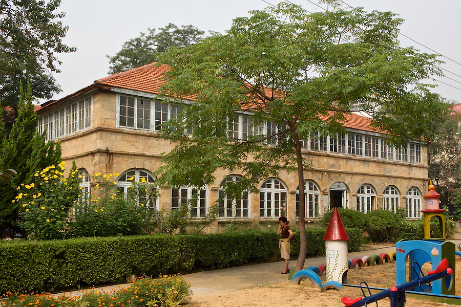 British Junior District Office Which Backs-On To The Post-1930 Consular Compound In Weihai (Weihaiwei).