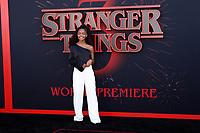 "LOS ANGELES - JUN 28:  Marsai Martin at the ""Stranger Things"" Season 3 World Premiere at the Santa Monica High School on June 28, 2019 in Santa Monica, CA"