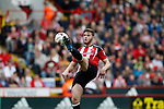 Jack O'Connell of Sheffield Utd during the English League One match at  Bramall Lane Stadium, Sheffield. Picture date: April 30th 2017. Pic credit should read: Simon Bellis/Sportimage