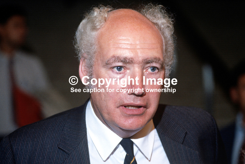 Jimmy Knapp, general secretary, National Union of Railwaymen, NUR, trade union, UK, addresses Trades Union Congress annual conference 1984. 19840103JK6.<br /> <br /> Copyright Image from Victor Patterson, 54 Dorchester Park, Belfast, UK, BT9 6RJ<br /> <br /> t1: +44 28 9066 1296<br /> t2: +44 28 9002 2446<br /> m: +44 7802 353836<br /> <br /> e1: victorpatterson@me.com<br /> e2: victorpatterson@gmail.com<br /> <br /> www.victorpatterson.com<br /> <br /> IMPORTANT: Please see my Terms and Conditions of Use at www.victorpatterson.com