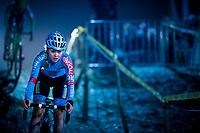 Laura Verdonschot (BEL/Marlux-Bingoal)<br /> <br /> women's race<br /> 44th Superprestige Diegem (BEL) 2018<br /> ©kramon