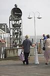 Water clock Southwold Pier, Suffolk, England