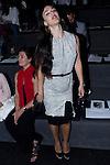 02.09.2012. Celebrities attending the Ana Locking fashion show during the Mercedes-Benz Fashion Week Madrid Spring/Summer 2013 at Ifema. In the image Sara Vega (Alterphotos/Marta Gonzalez)