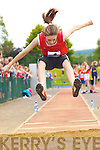 Daragh McDonnell Tarbert competing in the long jump at the Denny County Community Games in An Riocht Castleisland on Sunday           Copyright Kerry's Eye 2008