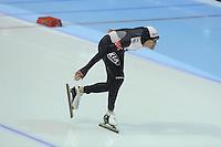 SCHAATSEN: HEERENVEEN: IJsstadion Thialf, 16-11-2012, Essent ISU World Cup, Season 2012-2013, Men 5000 meter Division A, Shane Dobbin (NZL), ©foto Martin de Jong