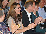 "CATHERINE, DUCHESS OF CAMBRIDGE AND PRINCE WILLIAM.visit the Rainbow Centre which caters for children with special needs. The Duke played ball and then joined the Duchess to watch a dance and musical show before unveiling a plaque before being presented with a batik painting by pupil Tan Si Xue_12/09/2012.Mandatory credit photo: ©MS Pool/DIASIMAGES..""""NO UK USE FOR 28 DAYS UNTIL 10TH OCTOBER 2012""..                **ALL FEES PAYABLE TO: ""NEWSPIX INTERNATIONAL""**..IMMEDIATE CONFIRMATION OF USAGE REQUIRED:.DiasImages, 31a Chinnery Hill, Bishop's Stortford, ENGLAND CM23 3PS.Tel:+441279 324672  ; Fax: +441279656877.Mobile:  07775681153.e-mail: info@newspixinternational.co.uk"