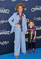 """LOS ANGELES, CA: 18, 2020: Brandi Carlile & Evangeline Ruth Carlile at the world premiere of """"Onward"""" at the El Capitan Theatre.<br /> Picture: Paul Smith/Featureflash"""