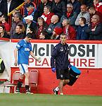 08.05.2018 Aberdeen v Rangers:  Graham Dorrans off injured