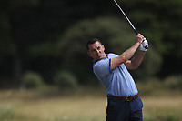 Barry Cashman (Belvoir Park) on the 12th tee during Round 2 - Strokeplay of the North of Ireland Championship at Royal Portrush Golf Club, Portrush, Co. Antrim on Tuesday 10th July 2018.<br /> Picture:  Thos Caffrey / Golffile