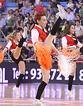 7.10.2012 Manresa. Cheerleaders  liga endesa ACB