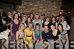 Aisling Barret,Castleisland (seated 3rd from left) celebrated her 30th Birthday in the Blasket Inn Tralee on Saturday night with Family and Friends............. ....