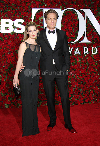 NEW YORK, NY-June 12:  Kate Arrington, Michael Shannon  at the 70th Annual Tony Awards at the Beacon Theatre in New York. NY June 12, 2016. Credit:RW/MediaPunch