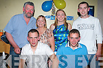TWIN 21ST BIRTHDAY: Twins Alan and Keith Dineen, Ardfert  celebrating their 21st birthday's with a big crowd of family and friends at McElligots Bar, Ardfert on Friday night.