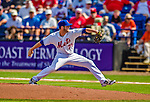 23 February 2013: New York Mets' pitcher Cory Mazzoni in action during a Spring Training Game against the Washington Nationals at Tradition Field in Port St. Lucie, Florida. The Mets defeated the Nationals 5-3 in their Grapefruit League Opening Day game. Mandatory Credit: Ed Wolfstein Photo *** RAW (NEF) Image File Available ***