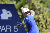 Mikko Korhoenen (FIN) on the 14th tee during the 1st round of the DP World Tour Championship, Jumeirah Golf Estates, Dubai, United Arab Emirates. 15/11/2018<br /> Picture: Golffile | Fran Caffrey<br /> <br /> <br /> All photo usage must carry mandatory copyright credit (&copy; Golffile | Fran Caffrey)