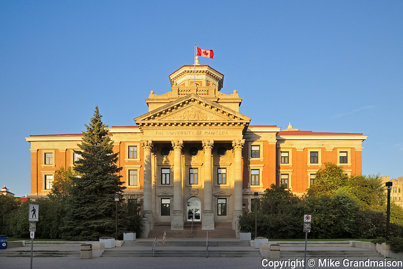 Administration Building - University of Manitoba<br /> Winnipeg<br /> Manitoba<br /> Canada