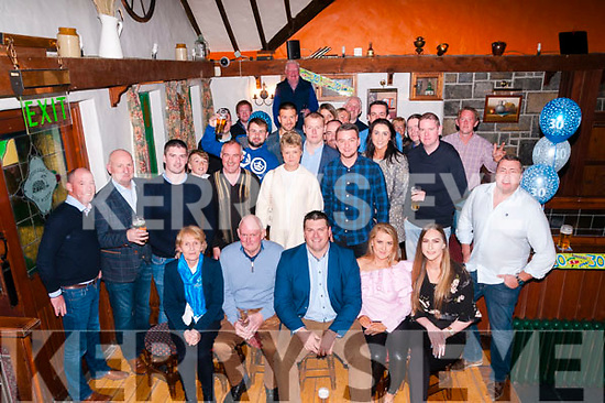 30th Birthday : James Allman, Listowel celebrating his 30th birthday with family & friends at the Thatch Bar, Liselton on Saturday night last.