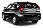Car pictures of rear three quarter view of 2015 Honda CR-V Elegance 5 Door SUV Angular Rear