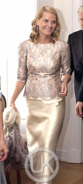 Crown Prince Haakon & Crown Princess Mette-Marit of Norway's visit to Iceland..Dinner at the Presidential Residence Bessasta.