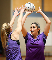 17.08.2017 Silver Ferns Te Paea Selby-Rickit during the Silver Ferns training in Auckland. Mandatory Photo Credit ©Michael Bradley.