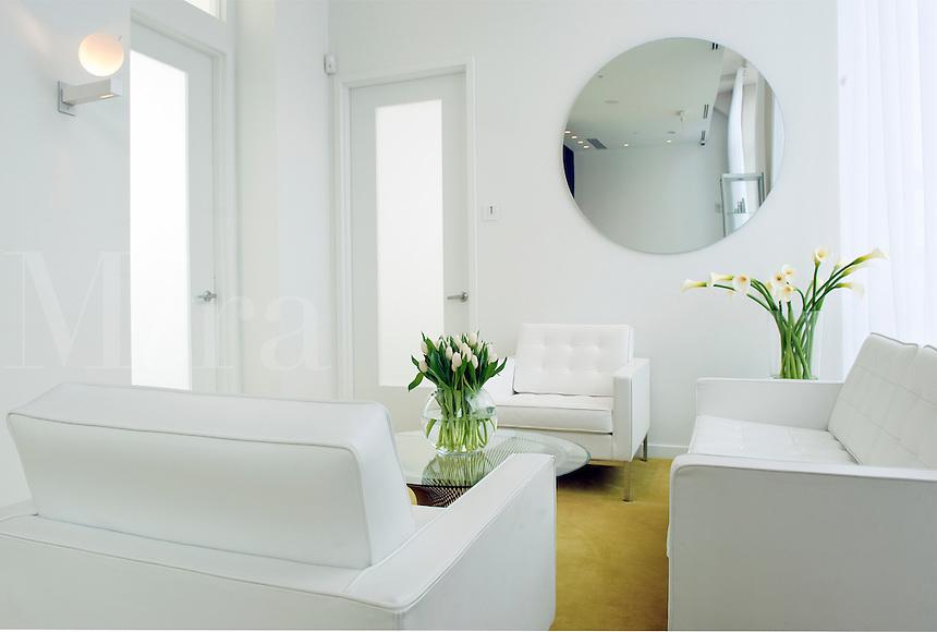 Upscale interior design.
